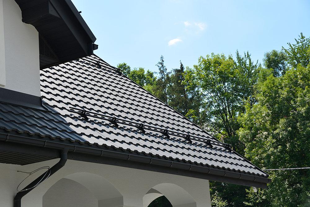 tabla tip tigla metalica Germania Simetric Plus Blachotrapez