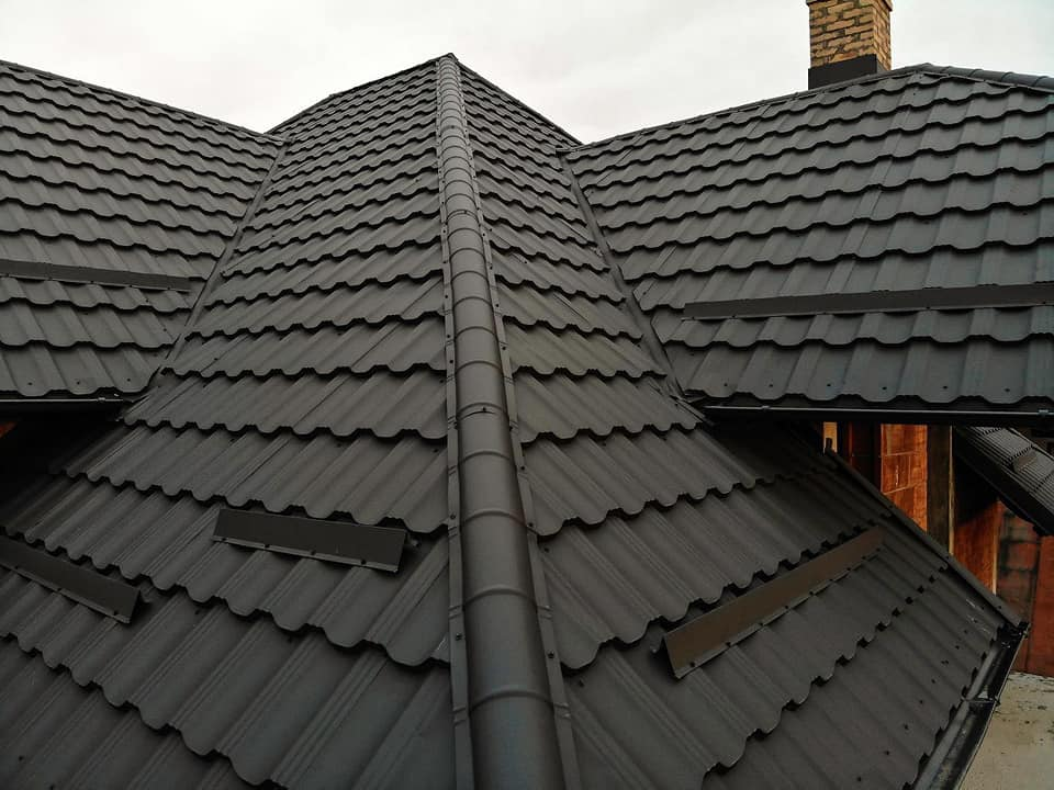 acoperis tabla tip tigla metalica Germania Simetric